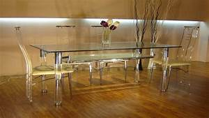 Dining Room Sets Glass Lucite Dining Table Acrylic Dining