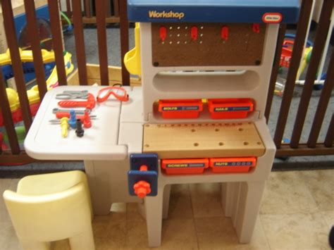 tikes tool bench tikes work bench tools work shop chair ebay