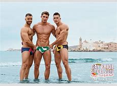 Gay Pride Sitges 2016 Official Photoshoot