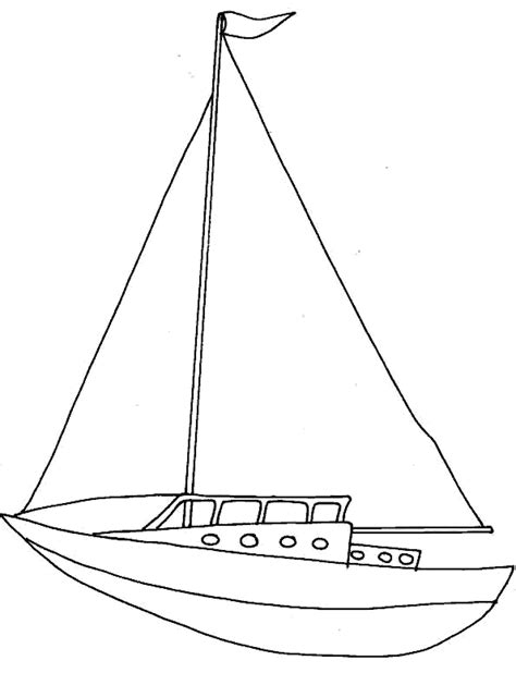 Velas De Barcos Para Colorear by Dibujo Barco De Vela Imagui