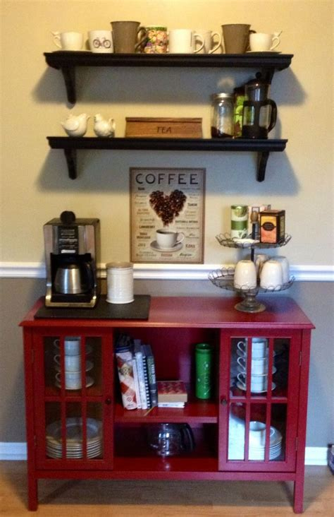 small coffee station  click     compact