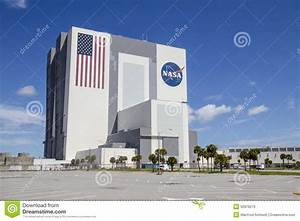 Vehicle Assembly Building editorial stock photo. Image of ...