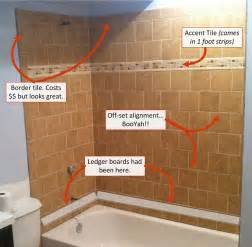 Tiling A Bathtub Enclosure by Top 10 Useful Diy Bathroom Tile Projects