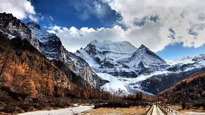 Mountains Mountain 4k Desktop Background Wallpapers Winter