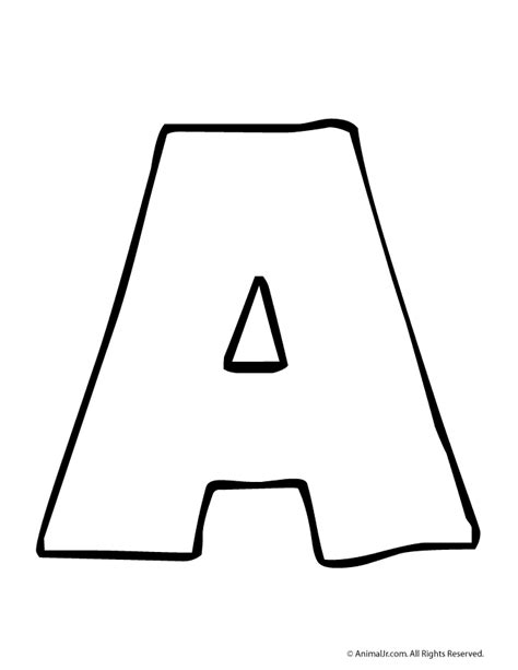Letter Print by Printable Letters Classroom