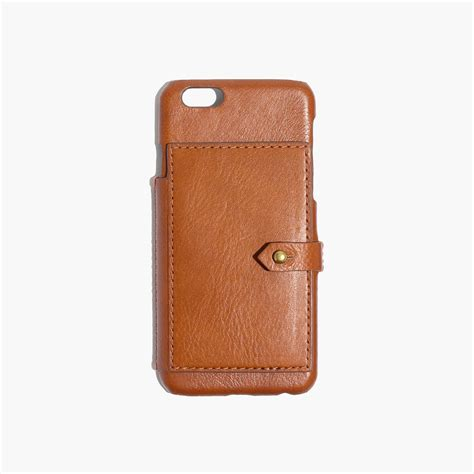 madewell iphone leather wallet for iphone 174 6 from madewell accessories