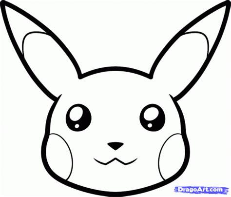 draw pikachu easy step  pokemon characters anime