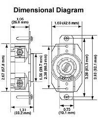 leviton 2410 20 amp 125 250 volt nema l14 20r 3p 4w With 20r wiring diagram