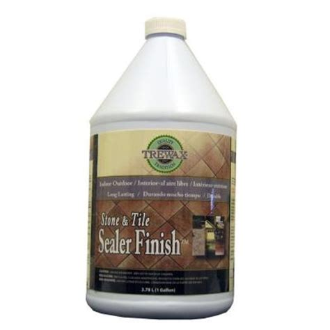 trewax 1 gal indoor outdoor stone and tile sealer