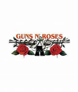Guns N Roses Logo Band T Shirt - Adult Unisex Size S-3Xl