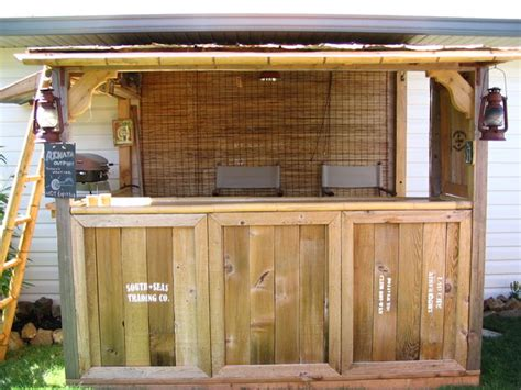 How To Build A Bar In Your Backyard by An Quot Indiana Jones Quot Themed Tiki Bar All