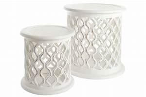 Beistelltisch Set Weiß : heine home beistelltisch 2er set online kaufen otto ~ Frokenaadalensverden.com Haus und Dekorationen