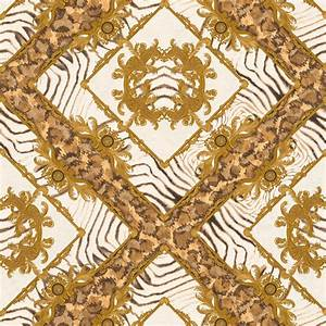 zebra ornament brown metallic wallpaper versace home decor With balkon teppich mit ornament tapete braun