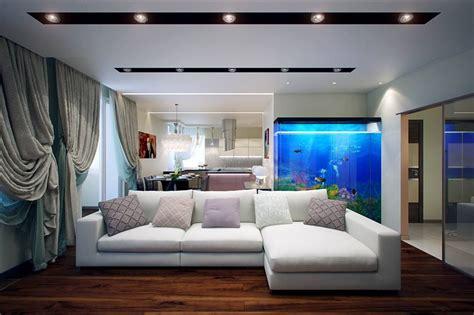 beautiful aquarium  living room ipc unique living