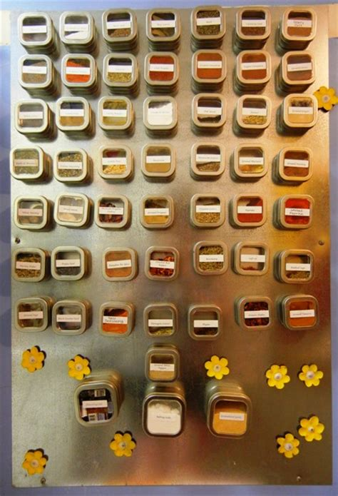 How To Make A Magnetic Spice Rack by How To Make A Magnetic Spice Rack Chirp Like A Cricket