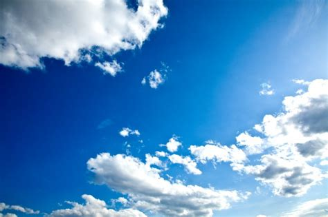 beautiful blue sky   afternoon summer time