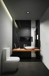 Les 25 meilleures idees concernant le tableau murs noirs for Salle de bain design avec hottes décoratives murales