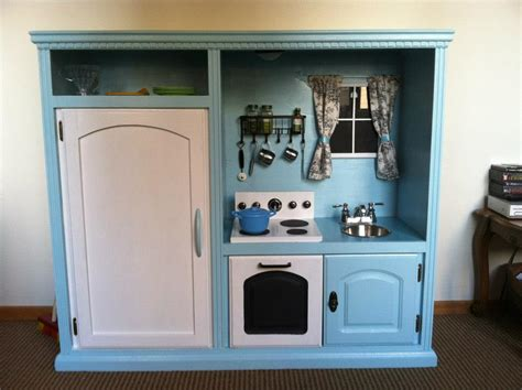tv cabinet play kitchen the most awesome images on the she s crafty 27344
