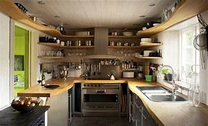 Kleine Küche Einrichten Tipps : kleine k che modern und fr hlich einrichten so geht es ~ Michelbontemps.com Haus und Dekorationen
