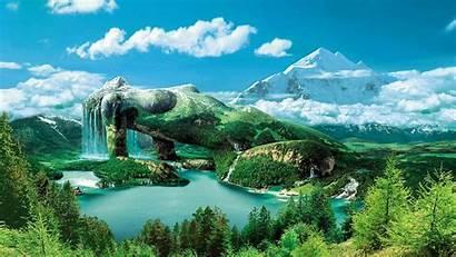 Paysage Magnifique Fantaisie Nature Wallpapers Fond Ecran