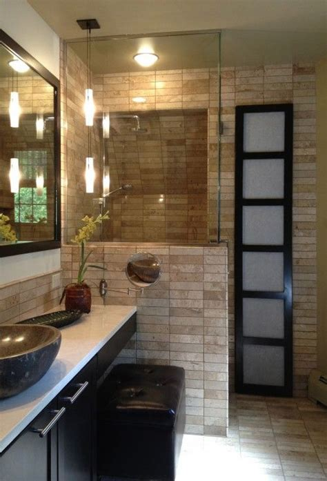 Zen Bathroom Ideas by Zen Showers Salle De Bain Asiatique Zen Bathroom