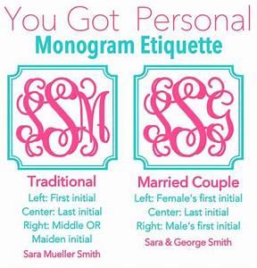 monogram etiquette monogram it pinterest With wedding invitation monogram etiquette