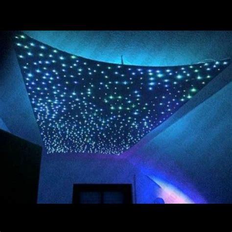 led glasfaser sternenhimmel 240 lichtfaser 5w rgb led sternenhimmel 16 farben glasfaser sternen le dhl