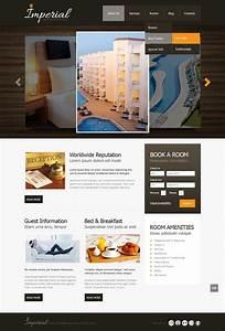 Hotels Website Template  42809