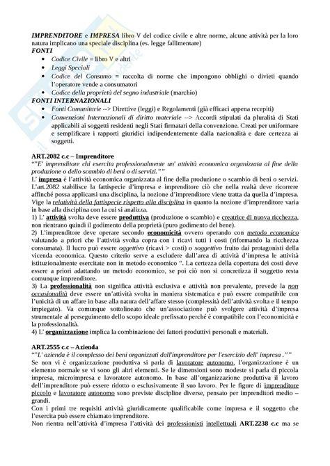 Dispensa Diritto Commerciale by Diritto Commerciale Appunti