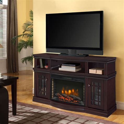 sutton  media electric fireplace  espresso ghp group