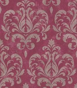 Tapete Ornamente Grau : tapete ornamente klassisch rasch lucera rot grau 608533 ~ Buech-reservation.com Haus und Dekorationen