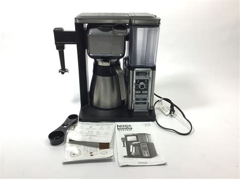 Just a simple fix for what seems like a common issue with the ninja coffee bar. Ninja Coffee Bar Auto-iQ Programmable Coffee Maker with 6 Brew Sizes, 5 Brew Opt   eBay