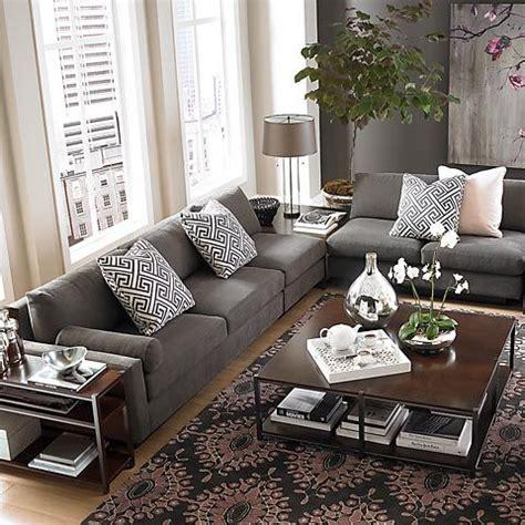 gray sofa living room decor living rooms with gray sofas peenmedia com