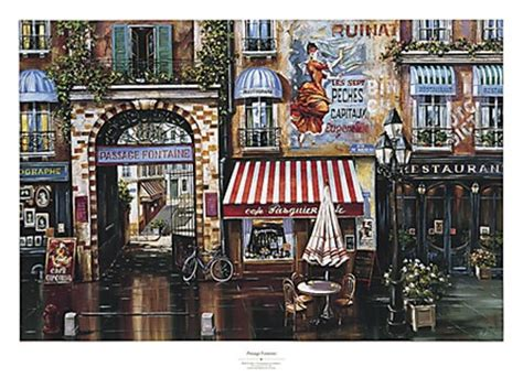passage fontaine fine art print  mark st john