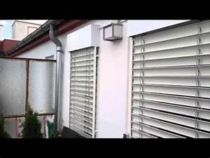 Sichtschutz Rollo Außen : jalousien aussen youtube ~ Michelbontemps.com Haus und Dekorationen