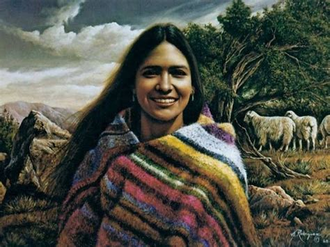 A Beautiful Native American Woman