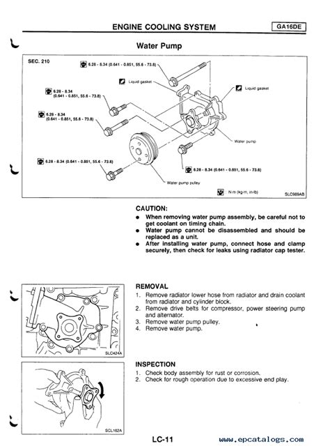 nissan primera model p series service manual