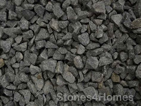 black decorative gravel black basalt 20mm charcoal driveway gravel stones4homes