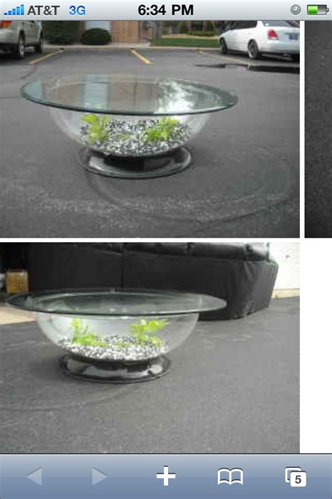 fish tank coffee table   For the Home   Pinterest