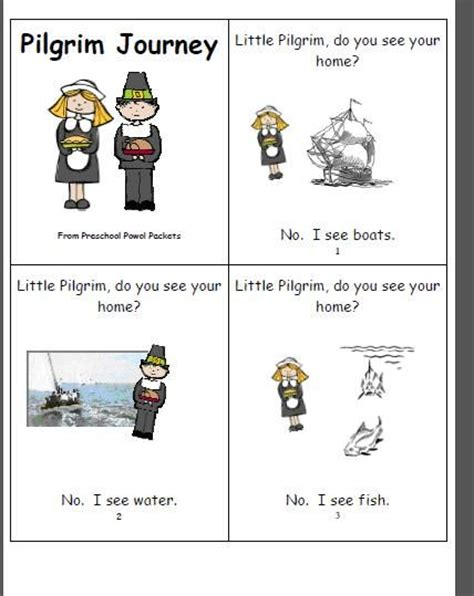 preschool powol packets free mini book pilgrim journey 434 | 567918b914e949f03938299bb5502bd3