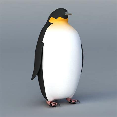 emperor penguin  model ds max files