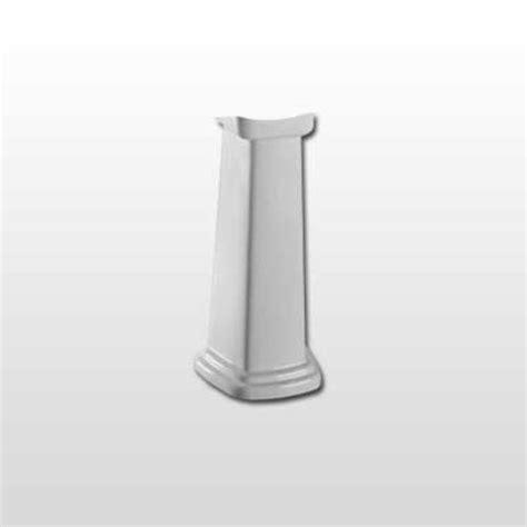 pedestal sink base toto pedestal sink base only cotton white