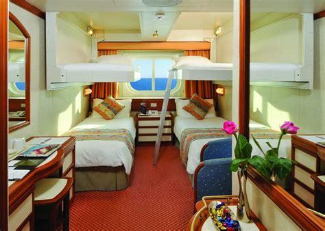Inside Cabin With Upper Berths Oceana Pu0026O Cruising ...