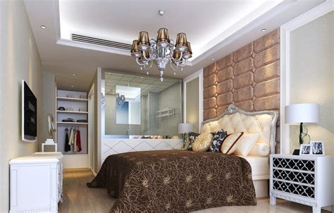 the best way of decorating master bedroom with walk in