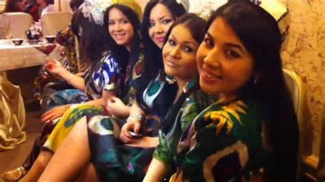 Uzbek Girls In National Clothes Milliy Libosli O Zbek Qizlar Узбечки в нац одеждах Youtube