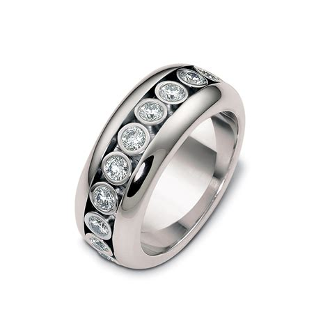 rolling diamonds wedding band timeless wedding bands