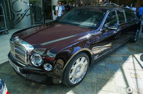 bentley mulsanne grand limousine  october