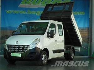 Renault Master Doble Cabina Basculante 150 Cv  Precio   348 734  A U00f1o De Fabricaci U00f3n  2011