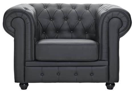 Chesterfield Wood Armchair