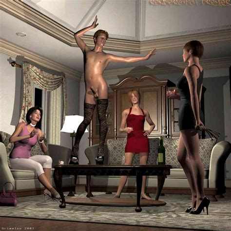 Grimmley Stories Featuring 3d Erotic Femdom Art